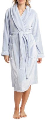 Harper & Grace Compton Gardens Woven Fleece Mid-Length Robe Artic