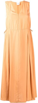 Alysi Tie-Side Silk Dress