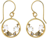 Accessorize Adeline Semi Precious Hoop Earrings