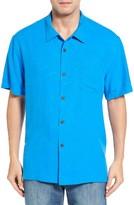 Tommy Bahama Men's Big & Tall Coastal Fronds Silk Camp Shirt