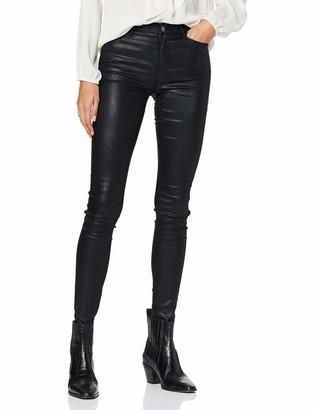 Vila Women's VICOMMIT RW Glitter Coat Jeans/2 Skinny