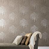 Graham & Brown Enchant Wallpaper Sample - Mocha