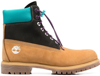 Timberland Colour-Block 6 Inch Boots
