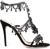 Marchesa Grace sandals - women - Suede - 36.5