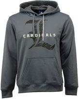adidas Men's Louisville Cardinals Sideline Stitched Shock Hoodie