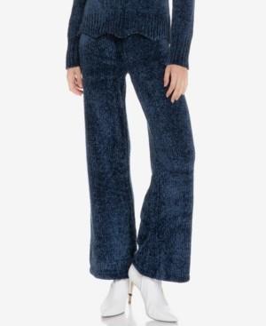 ENGLISH FACTORY Scallop Waistband Knit Pants
