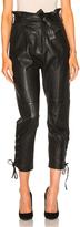 Marissa Webb Kitana Leather Pant