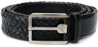 Brioni Woven Buckled Belt