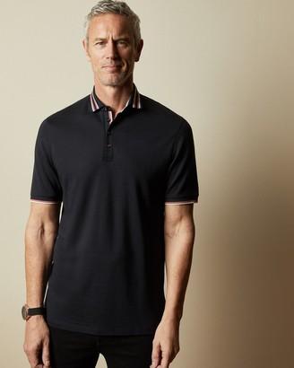 Ted Baker TEACUTT Tall cotton polo shirt