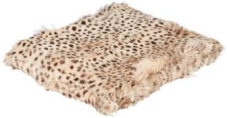 OKA Chyangra Goat Hair Throw - Cheetah