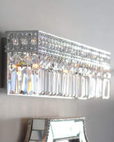 Horchow Polished Chrome Vanity Sconce