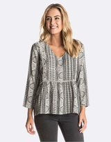 Roxy Womens World Turning Top