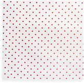 Colordrift 15-Inch Square Foil Placemat in Metallic Red Polka Dot