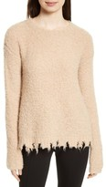 ATM Anthony Thomas Melillo Women's Destroyed Hem Sweater