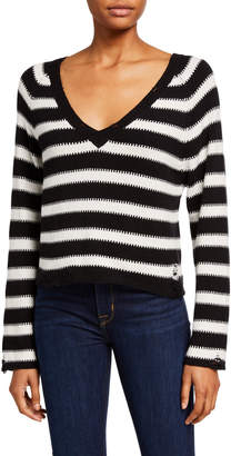 Wildfox Couture Leanne Striped Sweater
