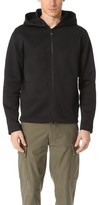 Vince Patch Pocket Square Hoodie