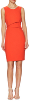 Ava & Aiden Colorblocked Cross Top Sheath Dress