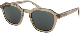 Barton Perreira Men's Tucker Vintage Square Acetate Sunglasses