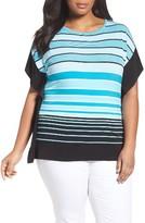 MICHAEL Michael Kors Plus Size Women's Abbey Stripe Top