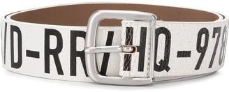 Diesel B-Arbarano II printed belt