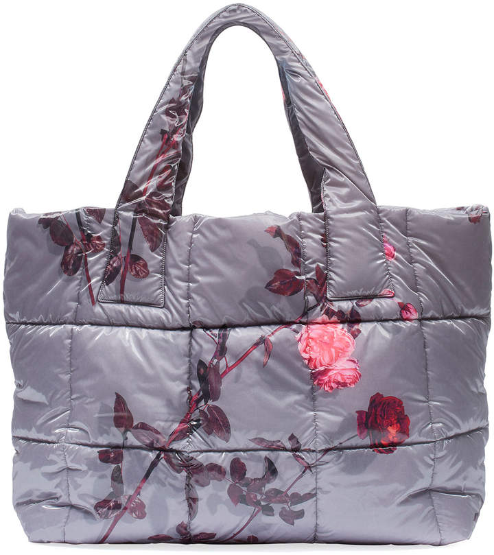 03ed1aa7638 Floral-Print Large Puffer Tote Bag