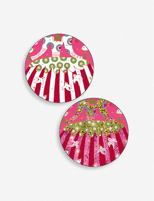 Djeco Dresses glitter boards craft kit