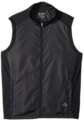 adidas Golf Kids Provisional Vest (Big Kids) (Black) Boy's Vest