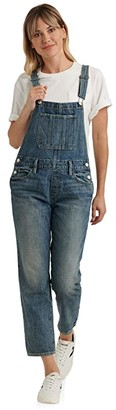 Lucky Brand Denim Boyfriend Overall in Assi (Assi) Women's Jumpsuit & Rompers One Piece