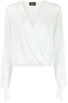 Liu Jo V-neck wrap blouse