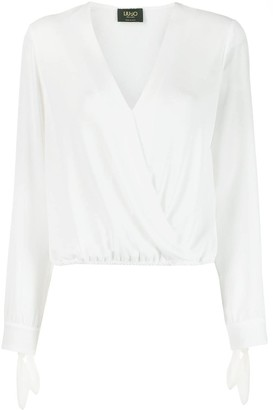 Liu Jo V-neck wrap blouse