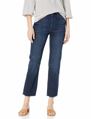 DL1961 Women's Mara Ankle-High Rise Instasculpt Straight Fit Jean