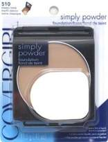 Cover Girl Simply Powder Foundation Classic Ivory (2-Pack)