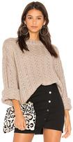 J.o.a. Drop Shoulder Crewneck Sweater