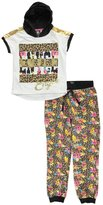 "Enyce Big Girls' ""Floral Cheetah"" 2-Piece Outfit"