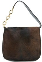 Marni pony hair shoulder bag