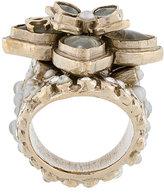 Chanel Vintage embellished ring