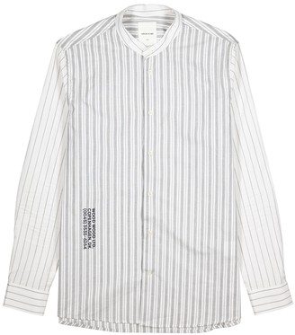 Wood Wood Tyson white cotton shirt