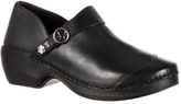 Women's 4EurSole Leather Clog RKYH046