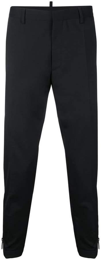 DSQUARED2 zipped cuff trousers