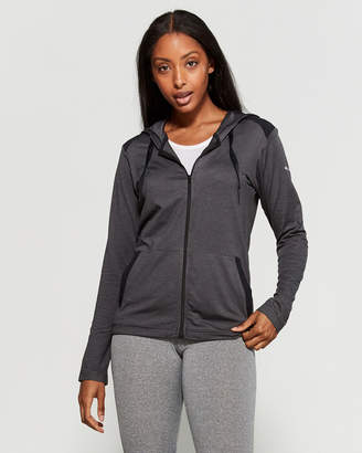 Columbia Black Heather Place To Place Full-Zip Jacket