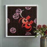 west elm Charley Harper Tapestry Wall Art - Redbirds & Redbuds