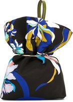 Emilio Pucci floral clutch bag