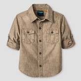 Genuine Kids from OshKosh Toddler Boys' Button Down Shirt Genuine Kids from OshKosh® - Khaki