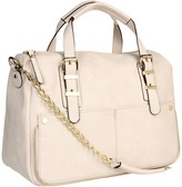 Steve Madden Bwindsor Satchel (Ivory) - Bags and Luggage