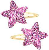 Gymboree Sparkle Star Clips