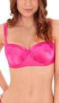 Lepel Victoria Pink and Orange Moulded Balconette Bra 158704 32G UK