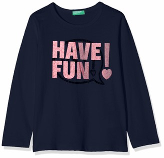 Benetton Girl's Funzione G2 Kniited Tank Top