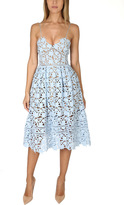 Self-Portrait Azaelea Lace Midi Dress