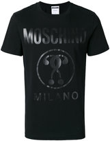 Moschino tonal logo t-shirt - men - Cotton - 46