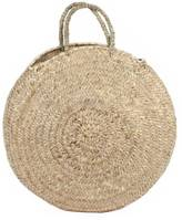 peastyle Handwoven Round Shopping Basket